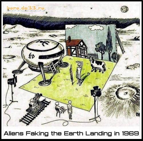 Aliens Faking the Earth Landing in 1969